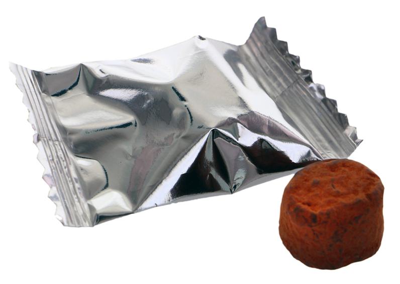 Hazelnuts truffles